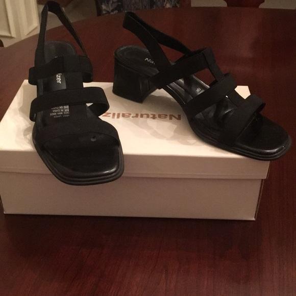Naturalizer Shoes - Naturalizer Jetson Black Stretch